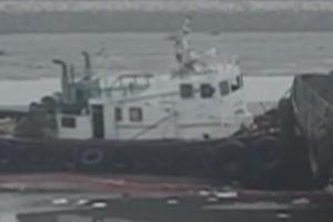 화성 궁평항서 예인선 침몰…선원 2명 대피, 인명피해 없어
