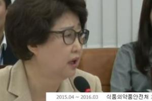 '살충제 계란' 파동 식약처장 혼낸 김승희 의원은 朴정부 식약처장