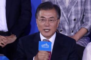 文대통령 대국민 보고대회 '대한민국, 대한국민' 시청률 12.9%
