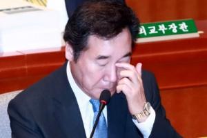 """이낙연 총리 """"업무장악 못하면 식약처장 거취 고민"""""""