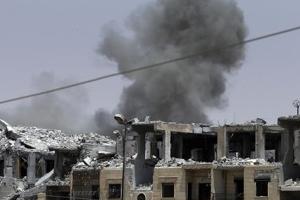 美 시리아 락까 공습에 민간인 최소 42명 사망