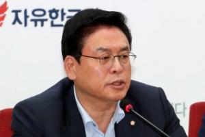 """정우택 """"류영진 식약처장, 해임건의안 1호로"""""""
