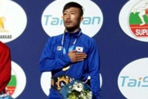 레슬링 류한수, 파리 세계선수권 금메달 획득