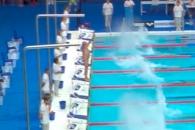 [영상] 스페인 71세 수영선수, 홀로 1분 늦게 출발한 …