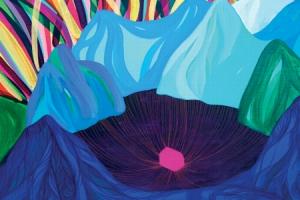 [그림과 詩가 있는 아침] '산 호수'/최나무