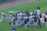 난투극 벌인 MLB 디트로이트·양키스, 무더기 징계