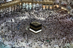 '하지' 맞아… 200만명 무슬림 사우디 메카로