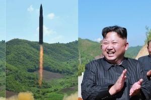 """北김정은 """"화성-12형 발사 훈련, 괌 견제위한 전주곡"""""""