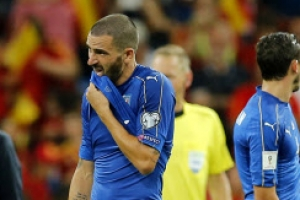 60년만 월드컵 탈락 위기 이탈리아, 스웨덴 결전 앞두고 초긴장