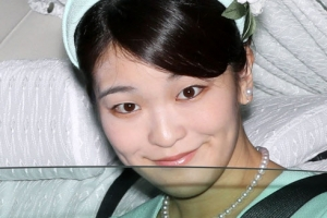 """日마코공주 """"대학 동기와 약혼했어요"""""""