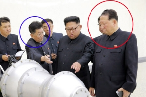 [北 6차 핵실험] 北핵개발 핵심 홍승무·리홍섭, 김정은 지근거리서 밀착 수행