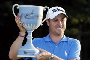 토머스, PGA 투어 플레이오프 2차전 우승…시즌 5승