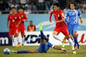 한국, 천신만고 끝에 9회 연속 월드컵 본선 진출