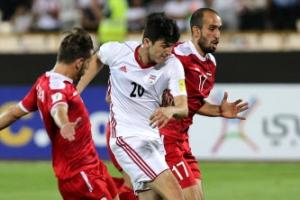시리아, 이란과 0-0 무승부…후반 추가시간 극적 동점골