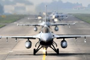공군, 대규모 '소링이글' 훈련 실시…대량 침투 적 항공기 저지