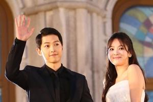 중국 언론, 송중기-송혜교 결혼식 몰래 생중계