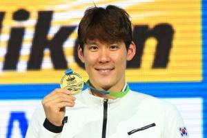 박태환, 내일 KIA 홈서 시구… 광주수영선수권 홍보