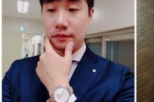 """'문재인 대통령 시계' 인증 배성재 아나운서…""""전생부터 덕 쌓아야 받는다"""""""