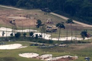 사드 발사대 4기 설치공사 마무리 단계…이르면 이번주 작전운용