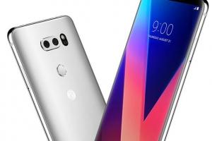 LG V30 내일 국내 출시…이통사, 카드할인·경품행사 풍성