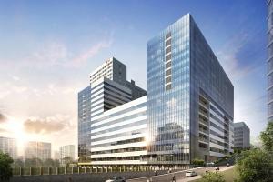 '성남 SK V1 tower', 성남 최초 9개층 드라이브 인 시스템 적용 '눈길'