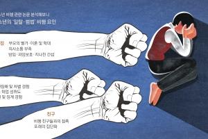 부모 학대·학교 차별·또래 집단성… 10대 '폭력 괴물' 키웠다