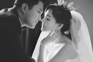 '가을의 신부' 서유정, 로맨틱 웨딩화보 공개