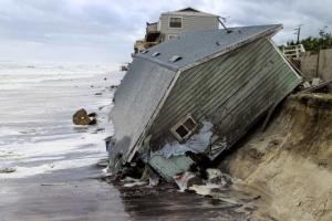[포토] '바다로 간 우리집…' 어마어마한 어마의 피해
