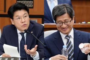 장제원 질의에 웃음 보인 김명수 대법원장 후보자…어떤 내용이길래