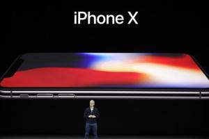 [포토] 애플 아이폰X 공개…홈버튼은 어디에?