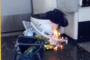 [포토] 영국 런던 지하철 열차서 폭발… 부상자 발생