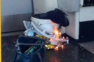 런던 지하철 '사제 폭탄' 폭발 테러…최소 22명 부상