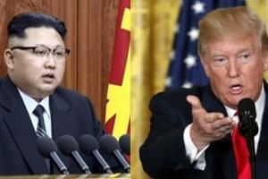 """트럼프, 北 김정은에 """"리틀 로켓맨""""…말 전쟁 '점입가경'"""