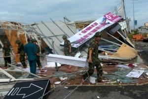 베트남에 태풍 독수리 강타…최소 8명 사망·30여명 부상