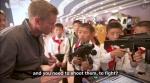 북한 아이들, 미국인 기자…