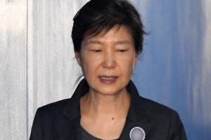 [서울포토] 법정으로 향하는 박근혜 전 대통령