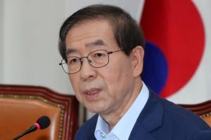 """[일문일답] 박원순 """"이명박 고소…아들 병역문제는 저열한 공격"""""""
