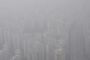 [서울포토] 미세먼지로 뒤덮인 서울 하늘