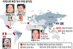 """멕시코·페루·쿠웨이트 이어 스페인도 """"北대사 나가"""""""