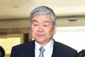 '文정부 첫 총수 소환' 조양호 한진 회장 경찰 출석