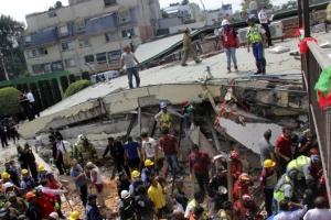 """[속보] 외교부 """"멕시코 지진 연락두절 한국인 사망 확인"""""""