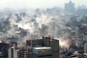 멕시코 또 강진 최소 217명 사망