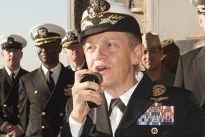 美 최초 여성 함대 사령관 타이슨 38년 군 복무 마감