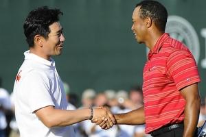 '황제' 우즈 잡은 양용은, PGA 역사상 '최대 반전' 3위