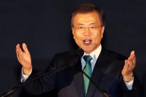 """文대통령 """"北 참여하는 평창 평화올림픽 성사시킬 것"""""""