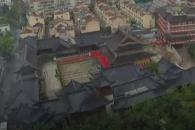 중국서 진행된 사찰 본당 통째로 옮기기
