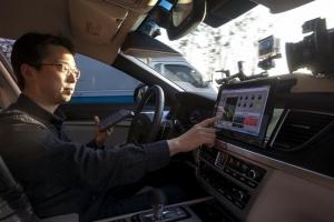 SKT 자율주행차, 출근길 경부고속도로 '쾌속 질주'