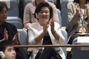 [서울포토] 박수치는 김정숙 여사