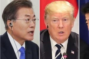 """""""미일 정상, 文에 대북인도적 지원  신중히 해달라""""...일언론 보도"""