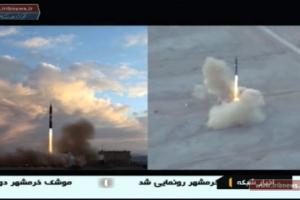 美 핵합의 파기 압박에… 이란, 탄도미사일 발사 '정면 대응'